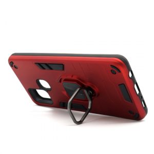 Samsung A21s maska crvena Defender sa prstenom (F89811)