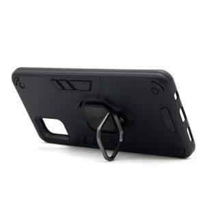Samsung A51 maska crna Defender sa prstenom (F89830)