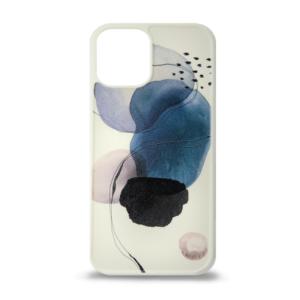 iPhone 12 maska apstrakt plava 3D ART