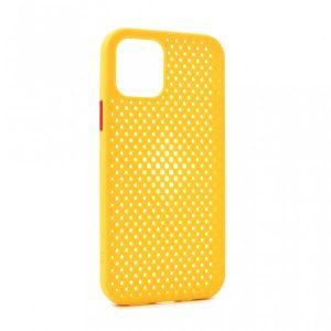 iPhone 12 maska ASPIRA žuta (89179)