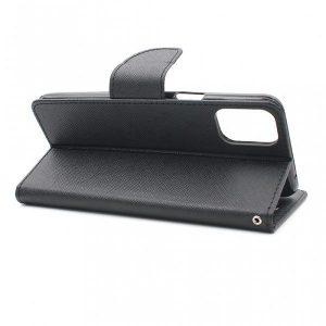 LG K42 futrola preklopna crna (89362)
