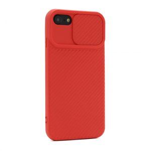 Maska za iPhone SE 2020 CamShield crvena (F89757)