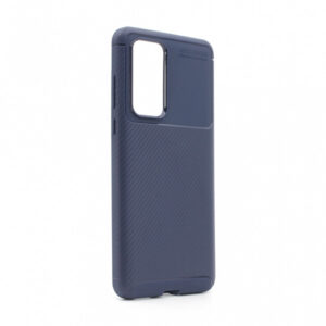 Maska za Huawei P40 plava karbon (79393)
