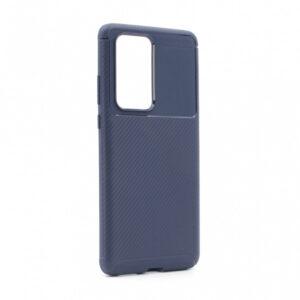 Maska za Huawei P40 Pro plava karbon (79395)