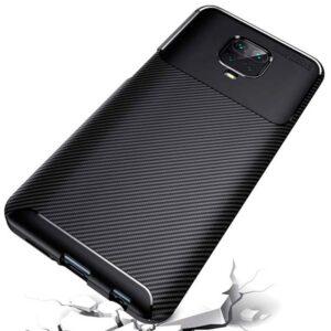 Maska za Redmi Note 9 Pro crna karbon (80763)