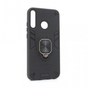 Huawei P40 Lite E maska crna Defender sa prstenom (83993)