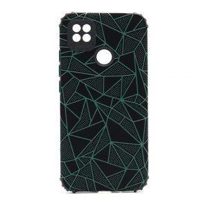 Xiaomi Redmi 9C maska mozaik zelena (F89713)