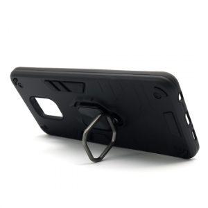 Redmi Note 9 Pro maska crna Defender sa prstenom (F89822)