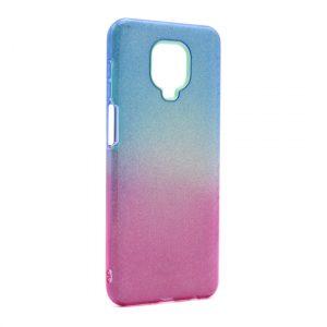 Redmi Note 9 Pro maska plavo ljubičasta sa šljokicama (F89910)