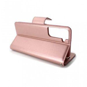 Samsung S21 futrola na preklop roze (89317)