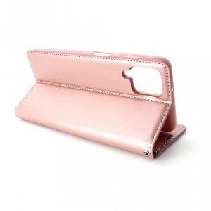 Samsung A12 preklopna futrola roze (89326)