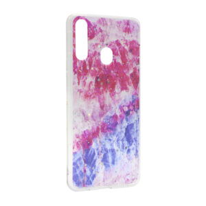 Samsung A20s maska pink plava ART (F89705)