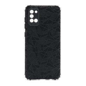 Samsung A31 maska mozaik crna (F89706)