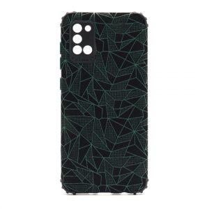 Samsung A31 maska mozaik zelena (F89709)