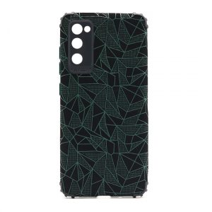 Samsung S20 FE maska mozaik zelena (F89721)