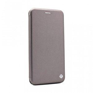 Futrola na preklop Moto G9 Plus siva (89920)