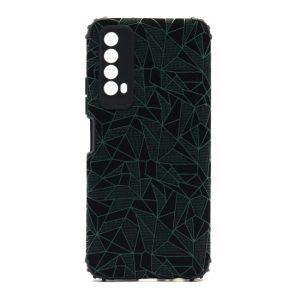 Huawei P Smart 2021 maska mozaik zelena (F90385)