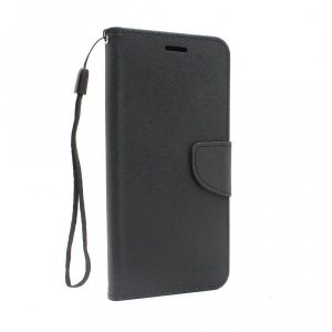 Samsung A12 futrola preklopna crna (89707)