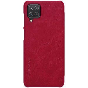 Kožna Futrola za Samsung A12 crvena (90465)