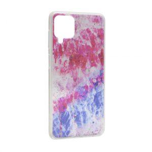 Samsung A12 maska pink plava ART (F90872)