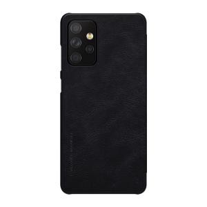 Kožna Futrola za Samsung A72 crna (91782)