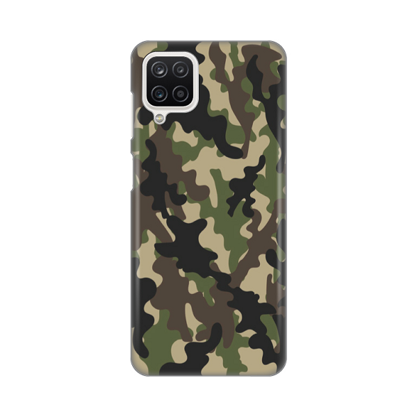 Print maska Samsung A12 army