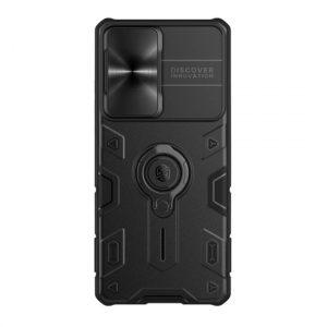 Samsung S21 Ultra maska CamShield Armor crna (F91027)