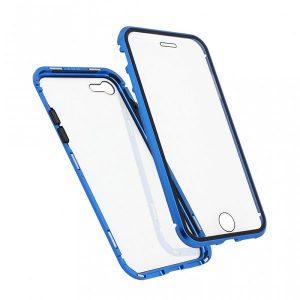 iPhone SE 2020 magnetna maska 360° plava