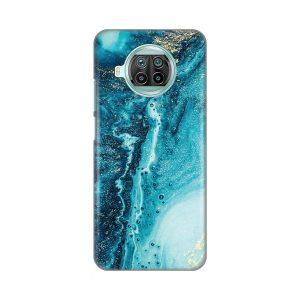 Print maska za Xiaomi Mi 10T Lite mermerno plava (017891)