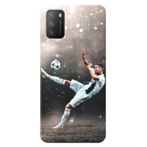 Print maska za Xiaomi Poco M3 Ronaldo
