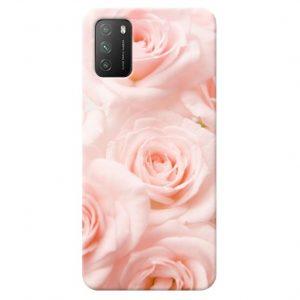 Print maska za Xiaomi Poco M3 Ruže