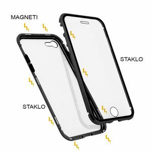 iPhone SE 2020 magnetna maska 360° crna
